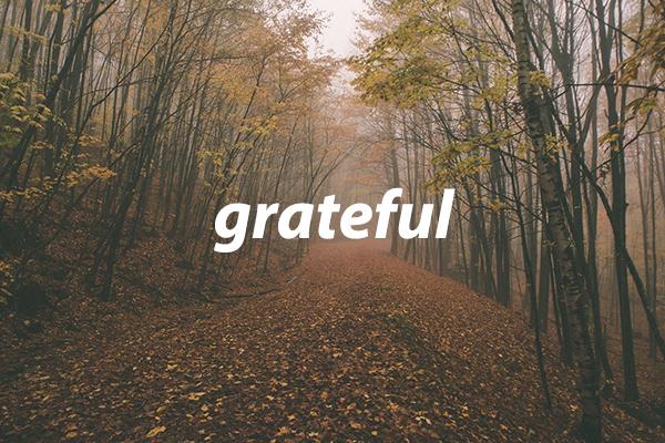 Grateful – Wk. 1